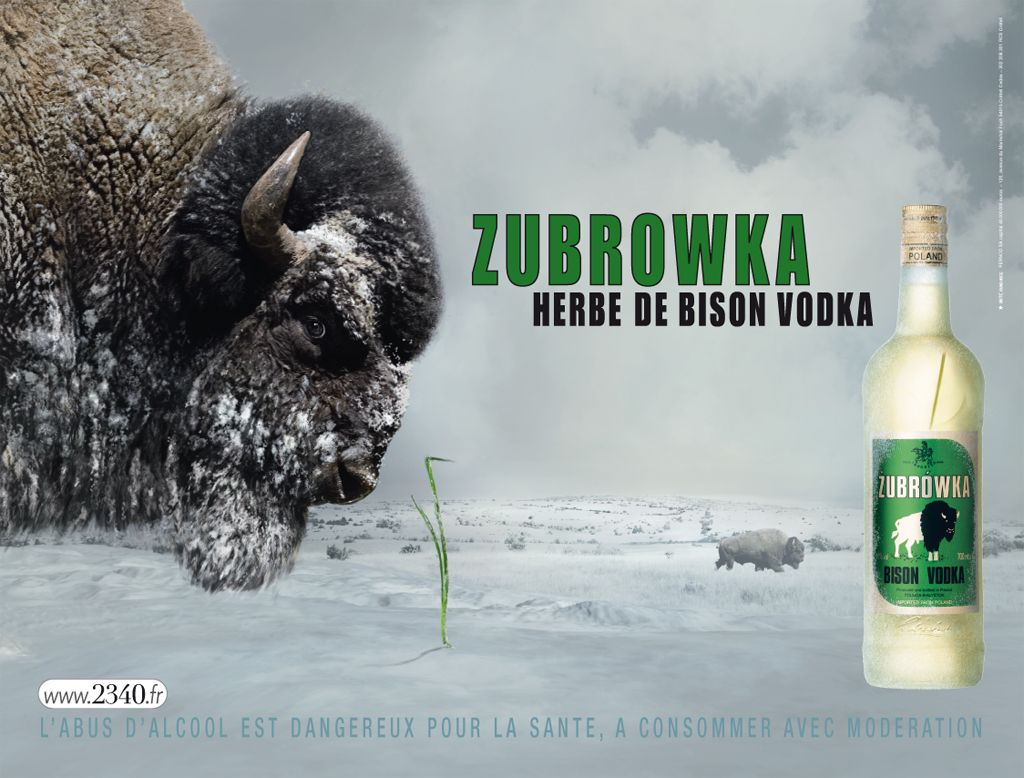 Zubrovka Bison Grass Vodka Pleasures Of Life