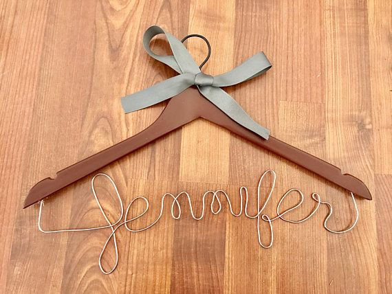 Grand Opening Sale Personalized Wire Wedding Bride Bridesmaid