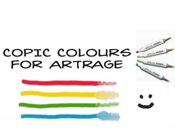 Copic Colors For Artrage Bolsterstone Deviantart Com Artrage Copic Coloring Artrage Tutorial