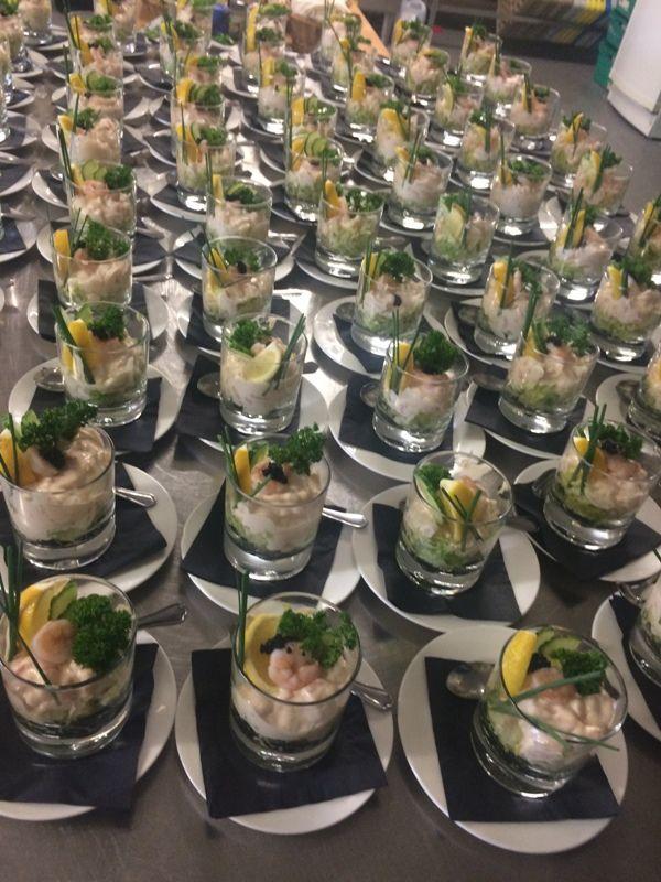 Prawn cocktail is always a hit