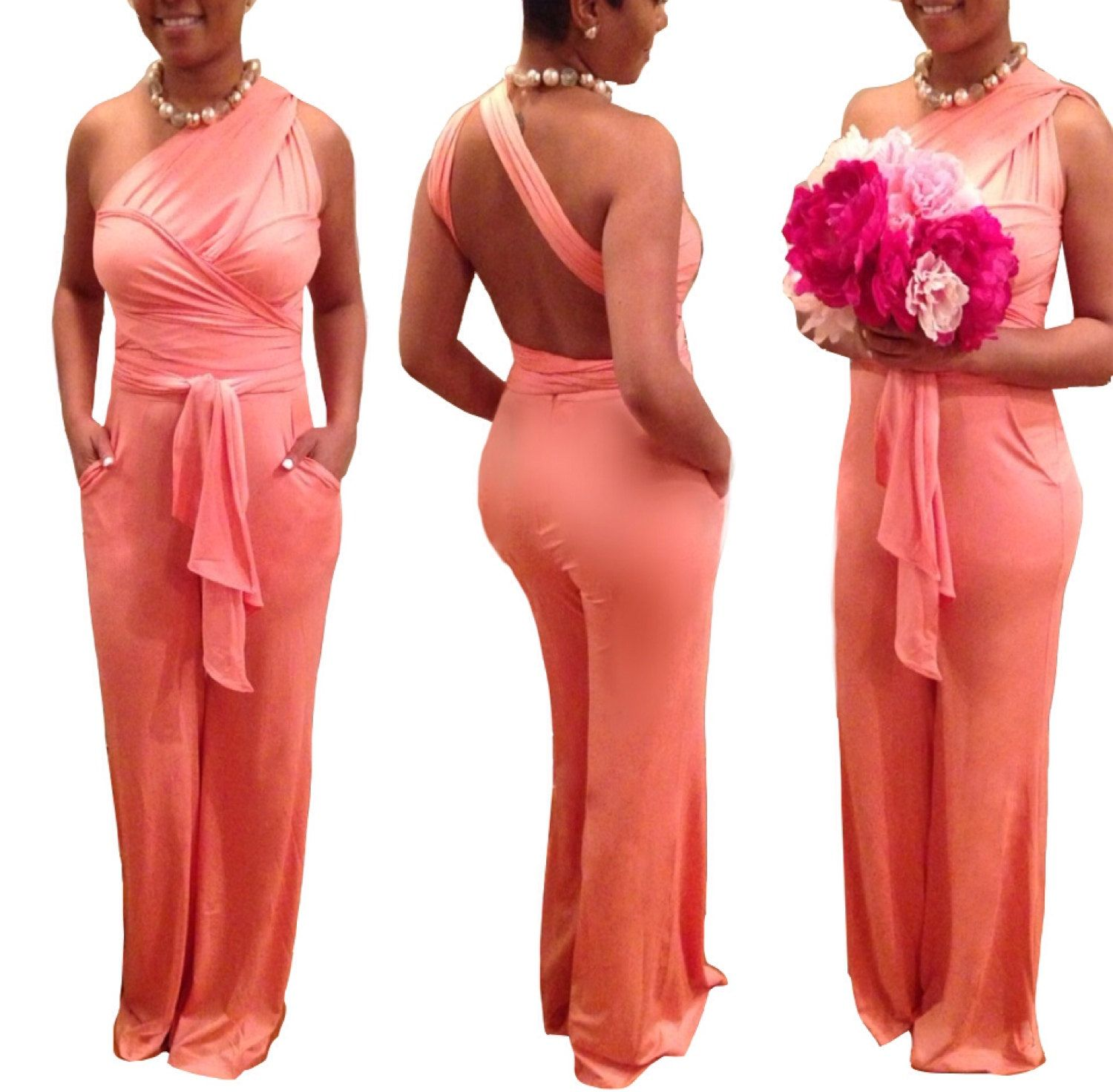 004c87601cee The Infinity Bridesmaid Convertible Jumpsuit by MySacredHeart ...