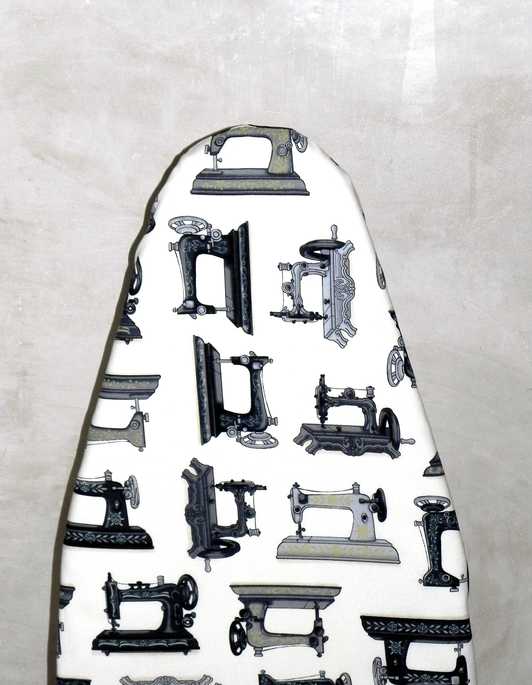 Tabletop Ironing Board Cover   Vintage Sewing Machines   Singer   Laundry  And Housewares