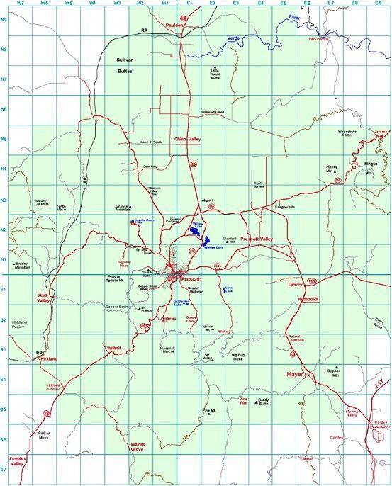 Prescott Arizona Trail Map #hikinginarizona | Best hikes ...