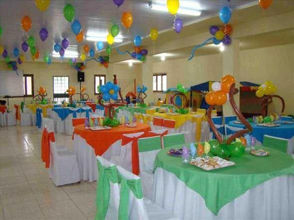 Decoração para o Dia das Crianças 005