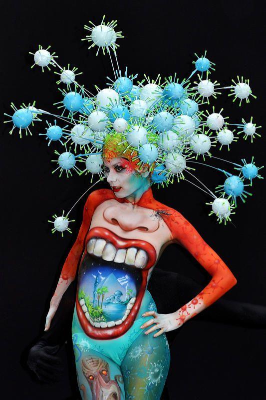 16th World Bodypainting Festival Body Art Painting Body Painting World Bodypainting Festival