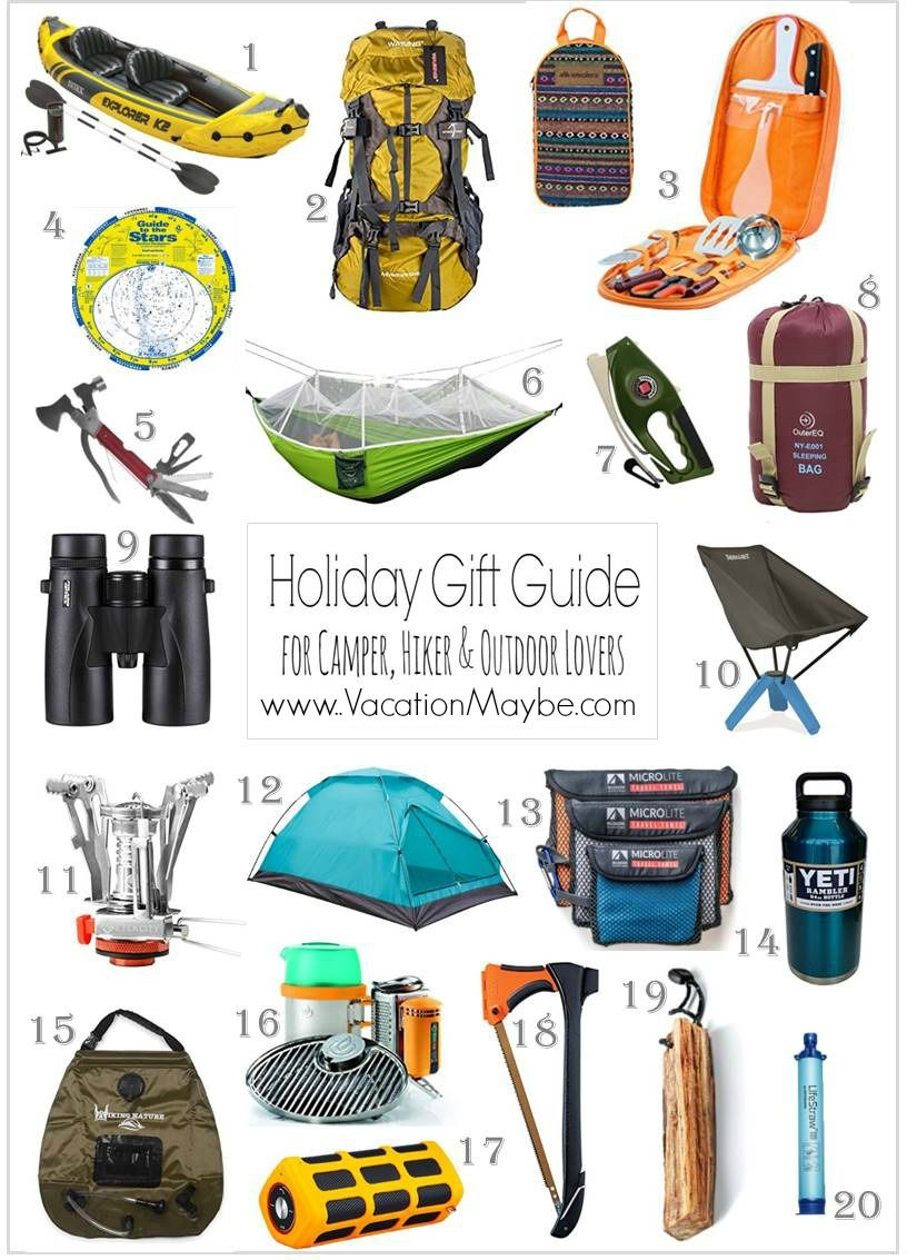 Outdoorsman Holiday Gift Guide Vacationmaybe Gifts For Campers Outdoorsman Gifts Camping Gifts