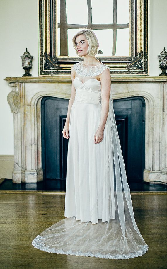 Pin By Signe Crawford Collier On The Bridal Capelet Cape Topper