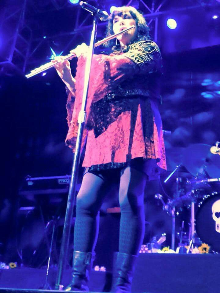 Ann Wilson (AW I WISH SHE'D PLAYED FLUTE AT THE CONCERT I WAS AT!!)