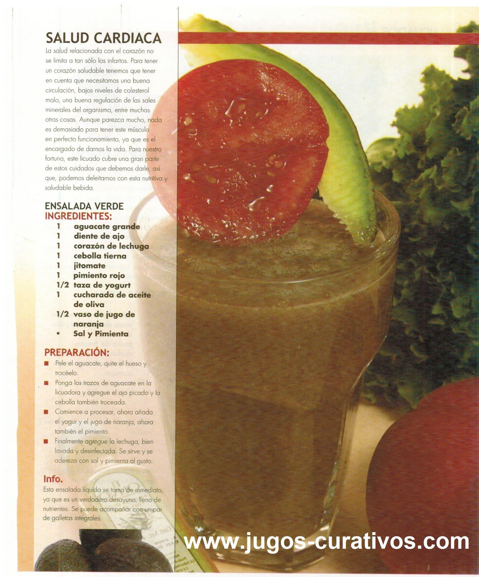 jugo de naranja con pimiento verde para que sirve
