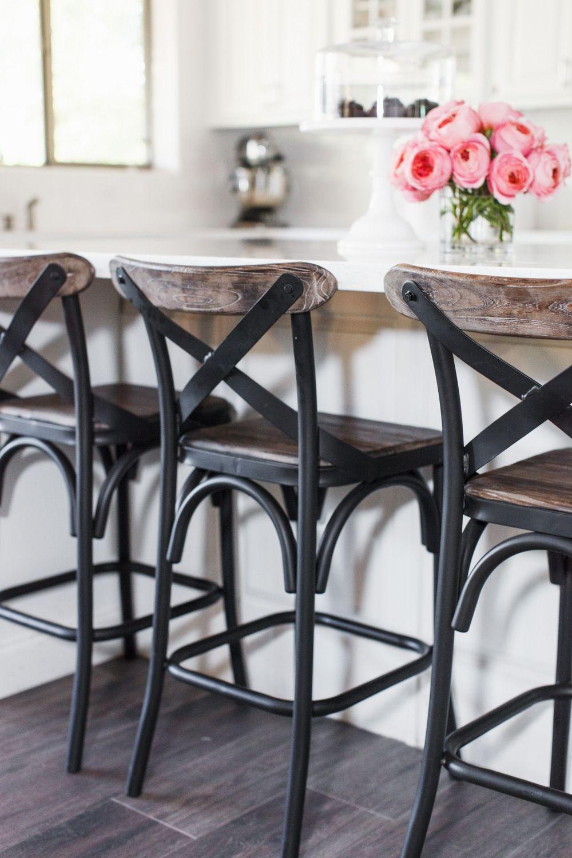 Tomkat Home Tour 2016 Chairs For Kitchen Island Farmhouse Bar