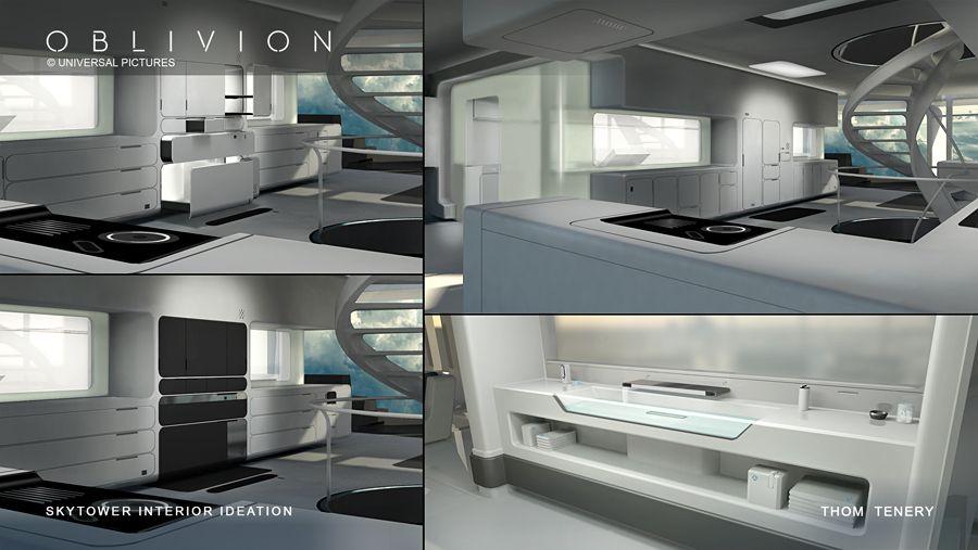 Living In Oblivion Production Design