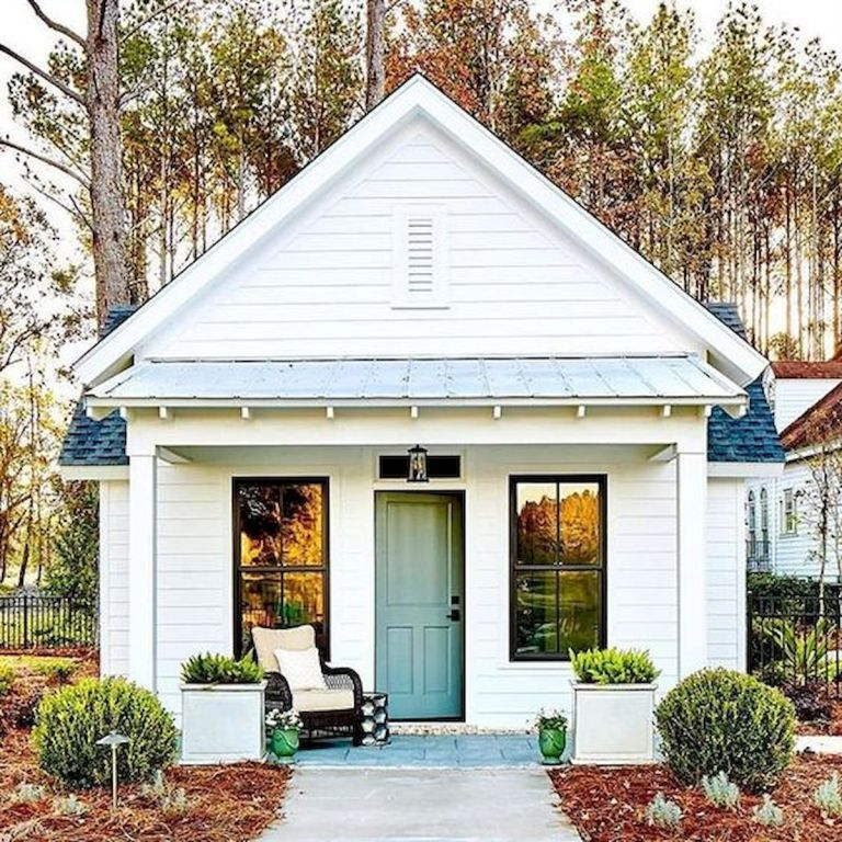 58 Best Tiny House Plans Small Cottages #smallhomes