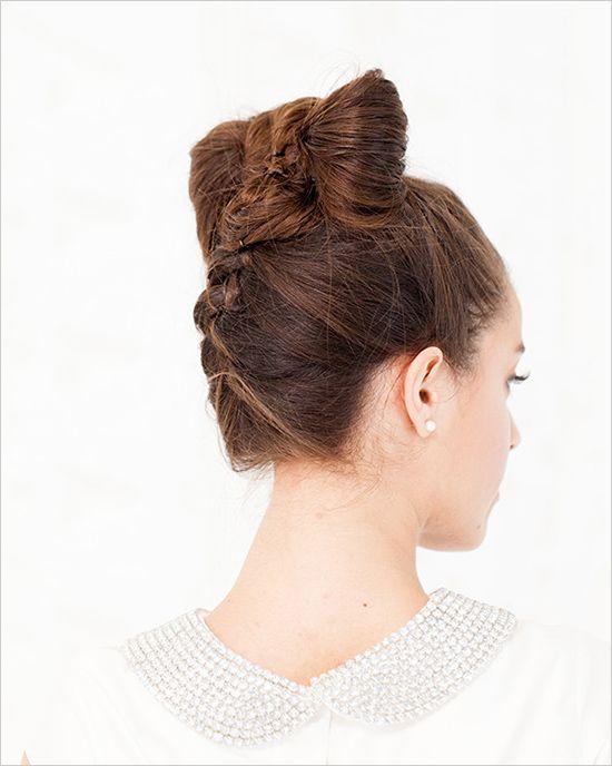 Los moños de cabello son tan hermosos