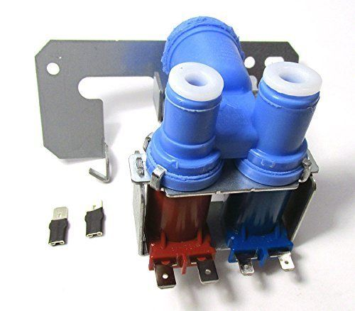 Ps901314 Refrigerator Dual Double Solenoid Water Inlet Valve For Frigs With Ice Maker And Water Dispenser For Ge Mode Inlet Valve Water Valves Water Dispenser