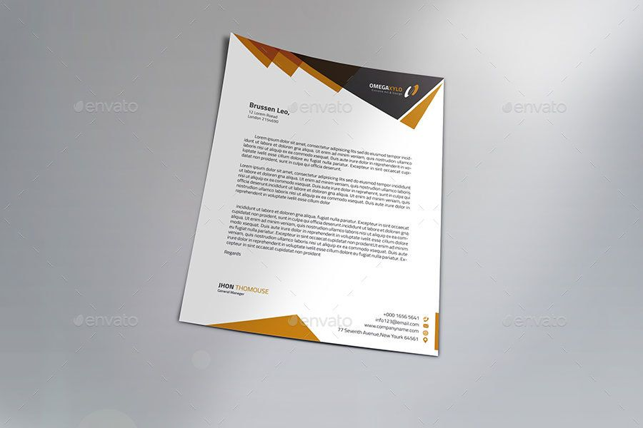 business letter head templates simple letter head corporate