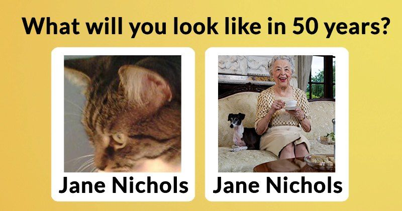 What will you look like in 50 years?