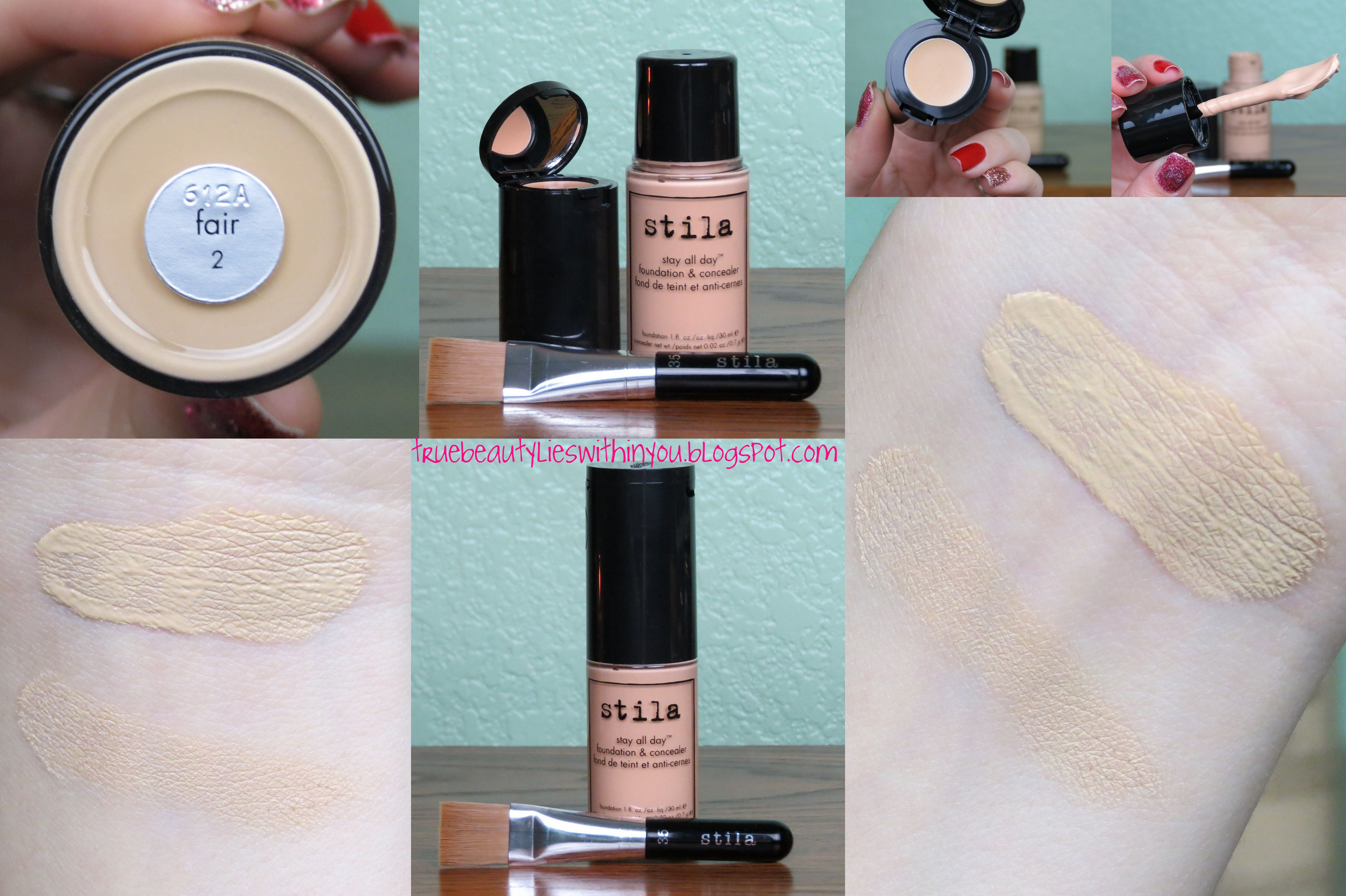 Stila Stay All Day Foundation & Concealer in 2 Fair | Beauty ...