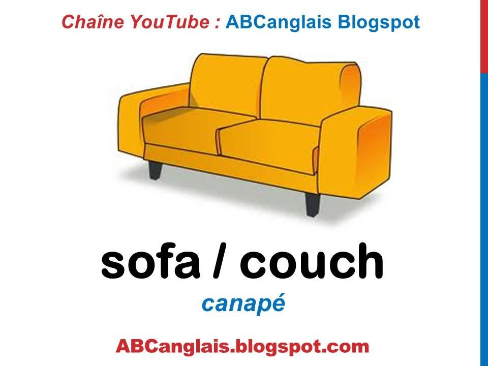 Cours D Anglais 47 Les Meubles En Anglais Vocabulaire Pieces De La Mai Furniture English Vocabulary English Course