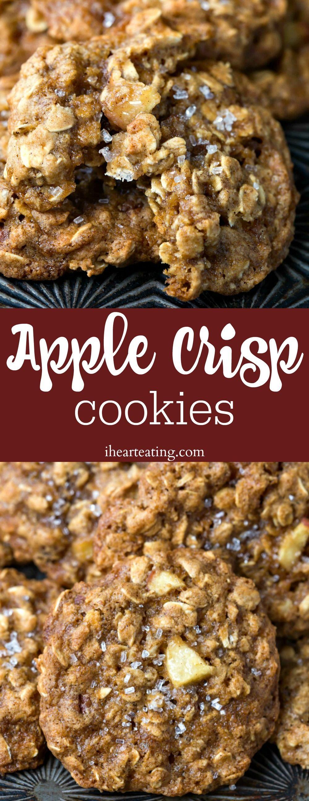 Apple Crisp Cookies #applecrisp