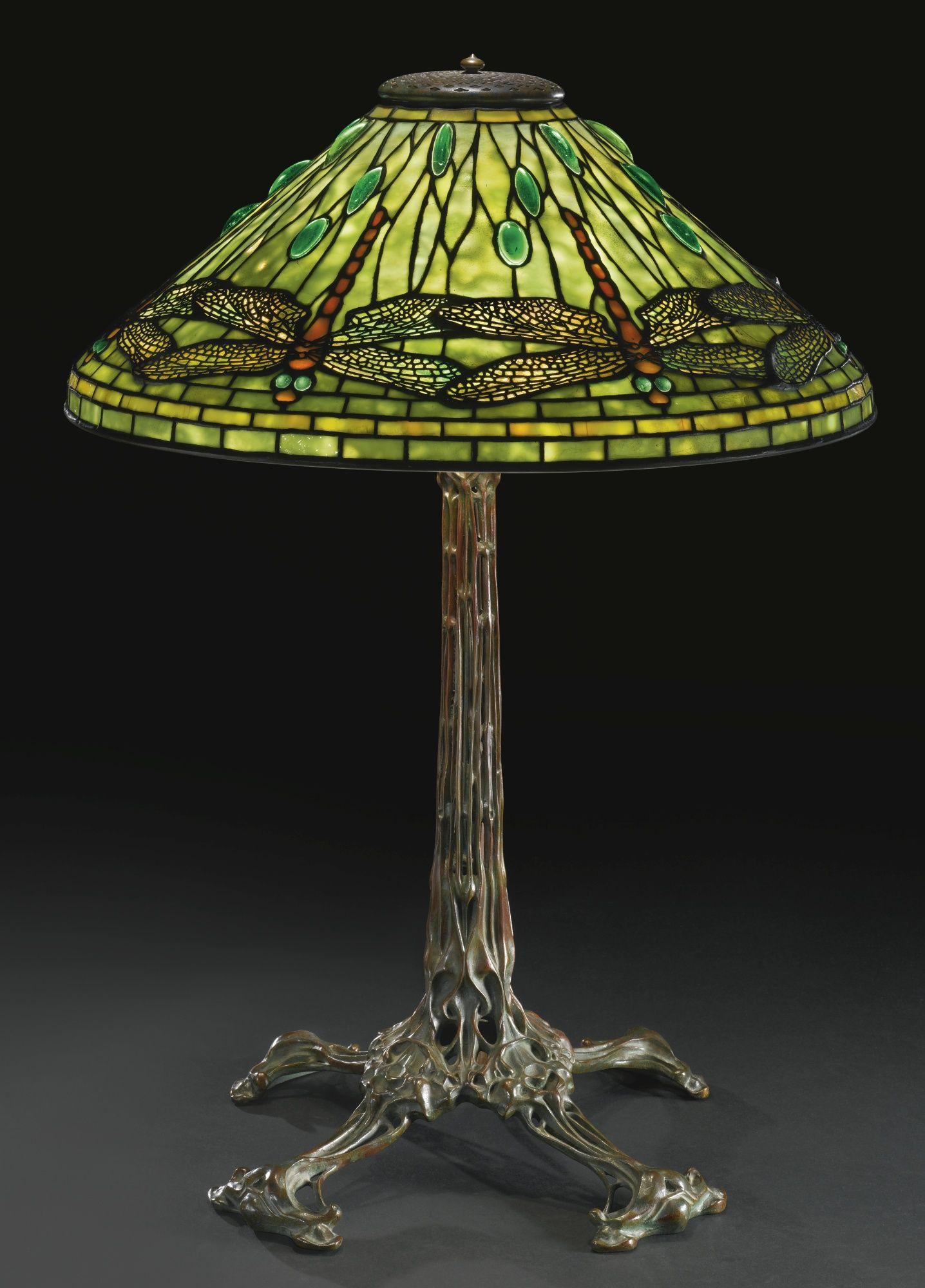 Tiffany Studios | Lot | Sotheby's | Tiffany lamp, Lampade