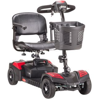 Drive Medical Scout 4 Wheel Travel Power Scooter