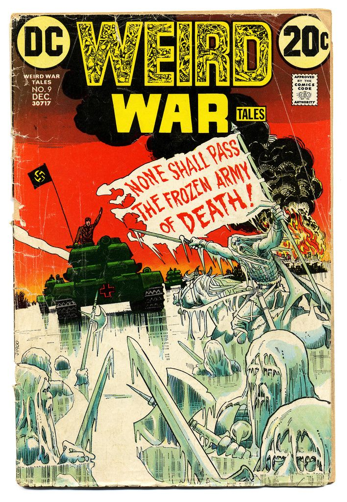 Weird War Tales. No. 9