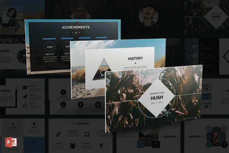 50 Best PowerPoint templates of 2017 - May Update Templates, The - history powerpoint template