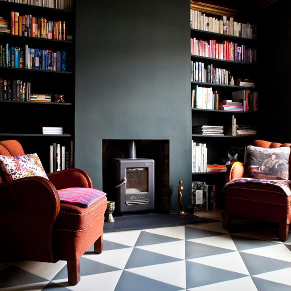 Grey Cork Flooring Kitchen: Rachel Point Grey Rubber Triangle Tiles