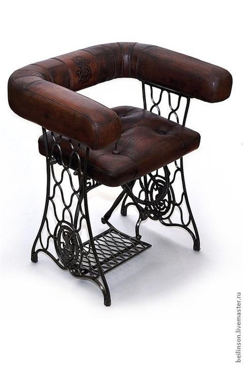 sewing machine base chair Más