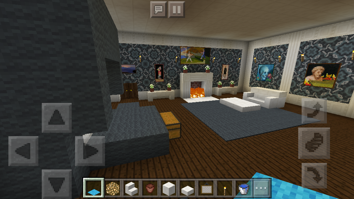 My Mansion #2- Minecraft Guest Bedroom #minecraftfurniture