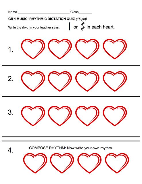 Beth's Music Notes: 1st grade