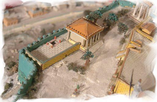 Ricostruzione della casa delle arrefore un tempo presente nell 39 acropoli di atene la sua - Tempi costruzione casa ...