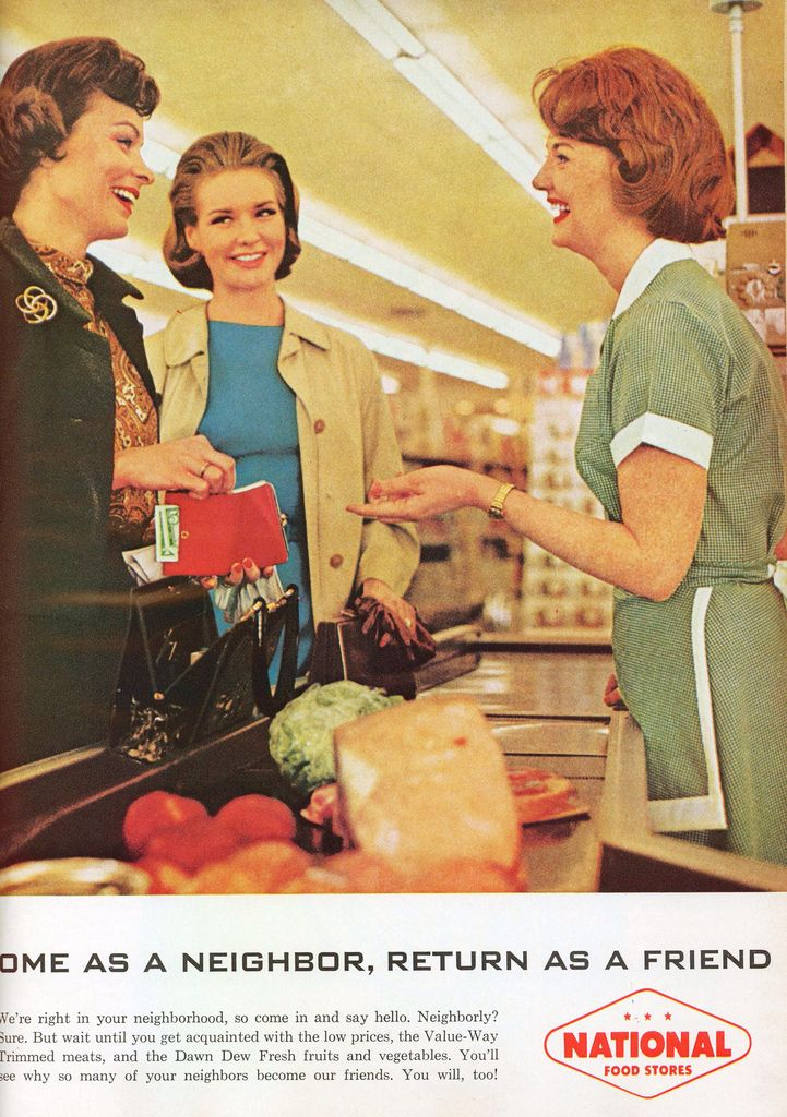 https://flic.kr/p/88aU6h | National Tea (National Supermarkets) 1964 Ad