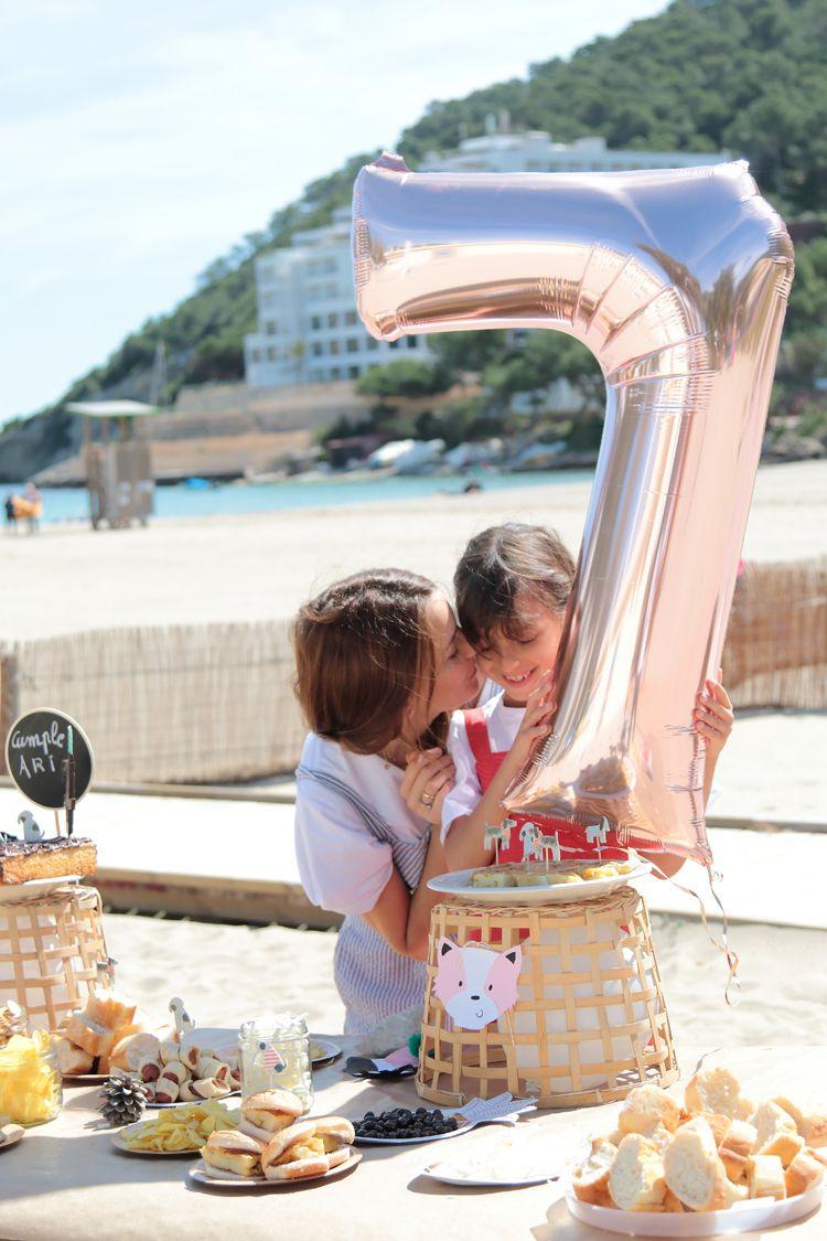 Fiesta De Cumpleanos En La Playa Para Ninas Y Ninos Cosas De Ninos