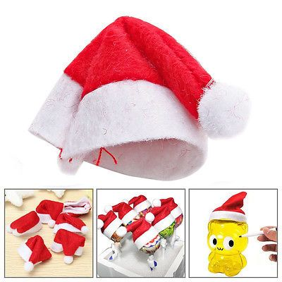 18pcs Red Santa Hat Candy Sugar Covers Set Christmas Xmas Party Home Decoration https://t.co/LEy7aMffQ7 https://t.co/dmovj85YZZ