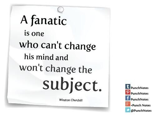 Definition Of A Fanatic