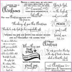 Christmas scriptures card sentiments greeting card verbiage christmas scriptures card sentiments m4hsunfo Choice Image