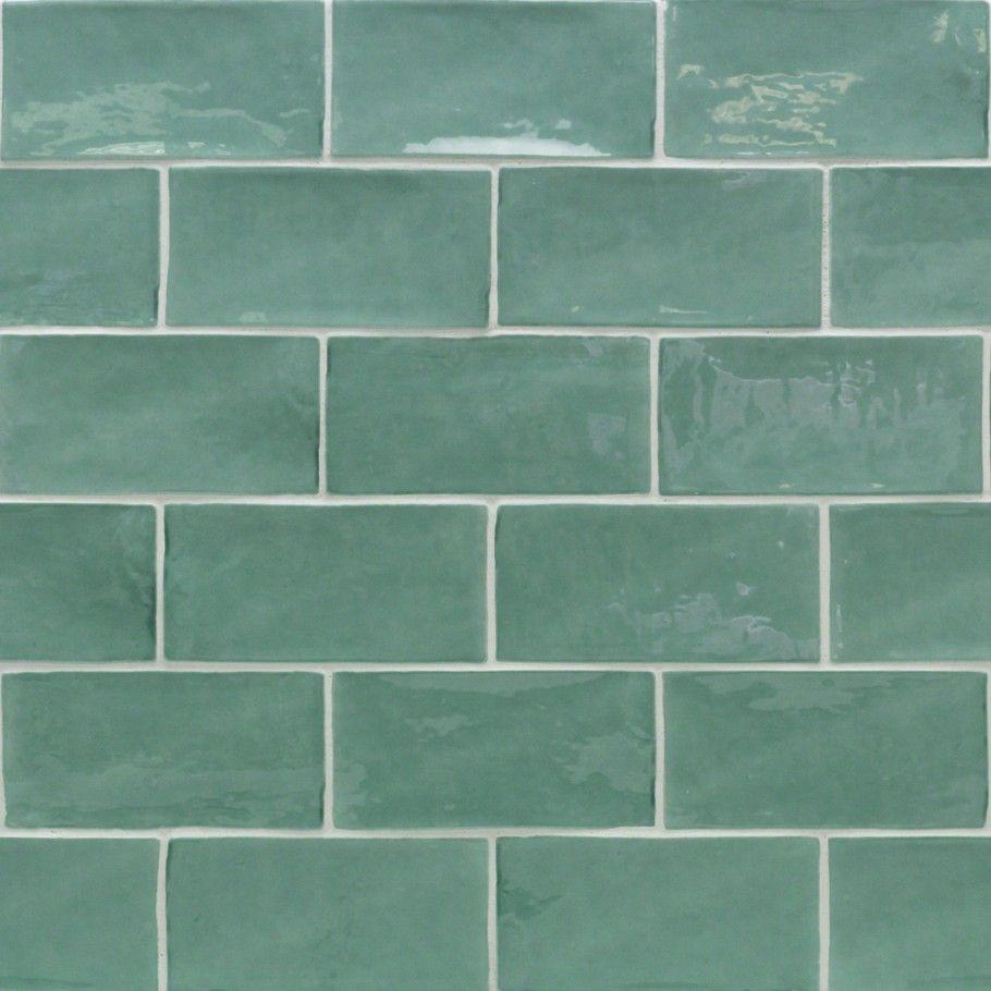Lancaster Open Seas 3x6 Polished Ceramic Tile En 2020 Idee Carrelage Parement Mural Et Ceramique Murale