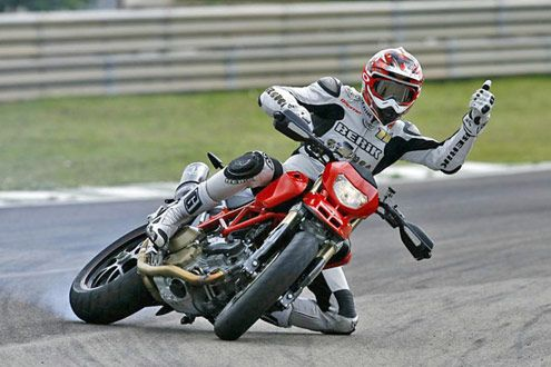 I don't do this exactly, but I love to ride my Hypermotard!  This is such a cool picture I had to pin it.
