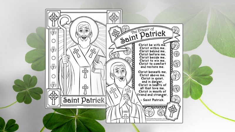 These are some well done coloring pages for St. Patrick and more ...