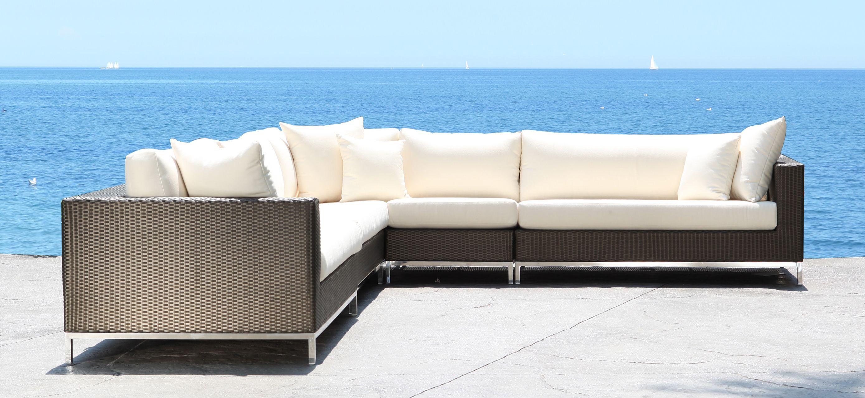 Amüsant Loungeset Toronto Sammlung Von Elegance Outdoor Sectional Stainless Steel Patio Furniture