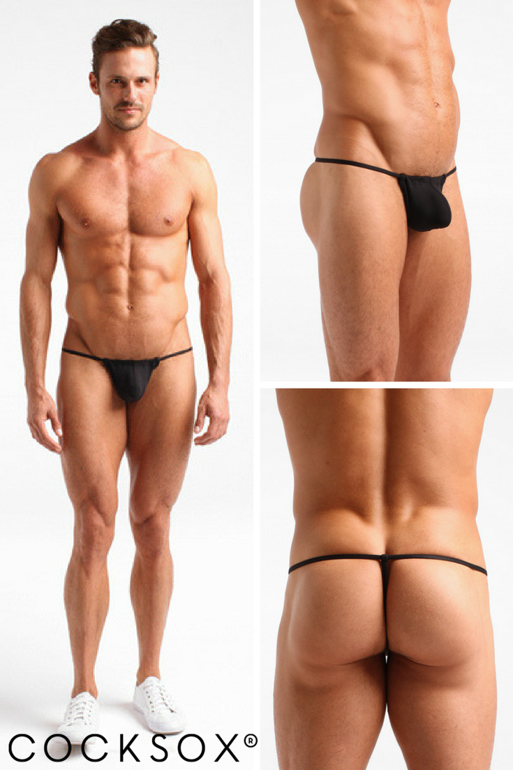 Our Notorious Cx14 Slingshot Thong Is Again Available In Black