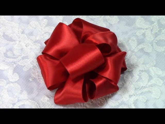 Diy Ribbon Bow Tutorial Variant 5 How To Make Multi Gift Bow