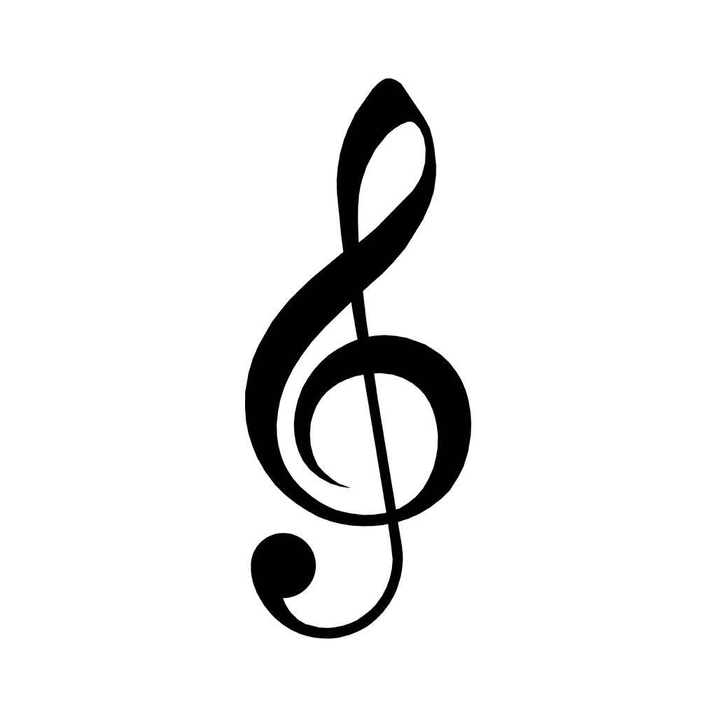 Music Symbol 2 Music Symbols Symbols Music Silhouette