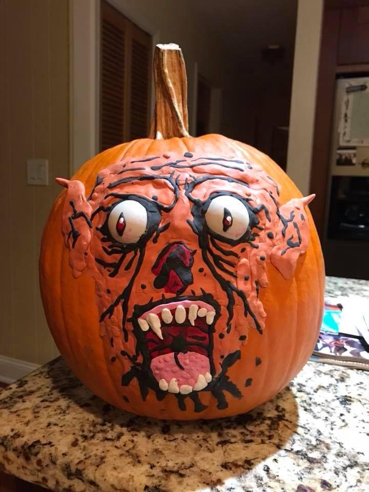 85+ Innovative Pumpkin Decorations To Grab Everyone\u0027s Attention - halloween pumpkin painting ideas
