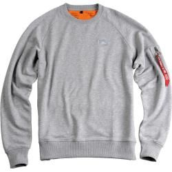 Photo of Alpha Industries X-Fit Sweatshirt Grau Xs Alpha Industries Inc.