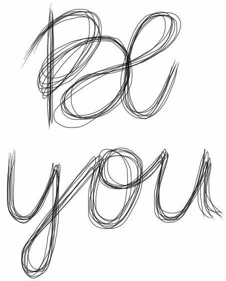 Sé tu mismo/a.