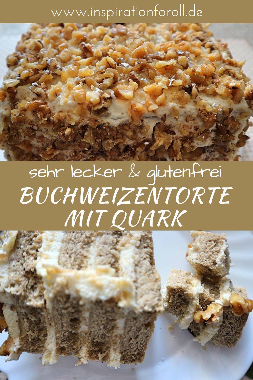 Buchweizentorte Einfaches Rezept Fur Leckeren Glutenfreien Kuchen Rezept Buchweizen Torte Buchweizen Kuchen Und Glutenfreie Torten
