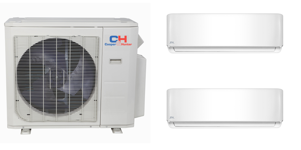 C&H 2x18000btu Mini Split AC Systems in Minisplitwarehouse