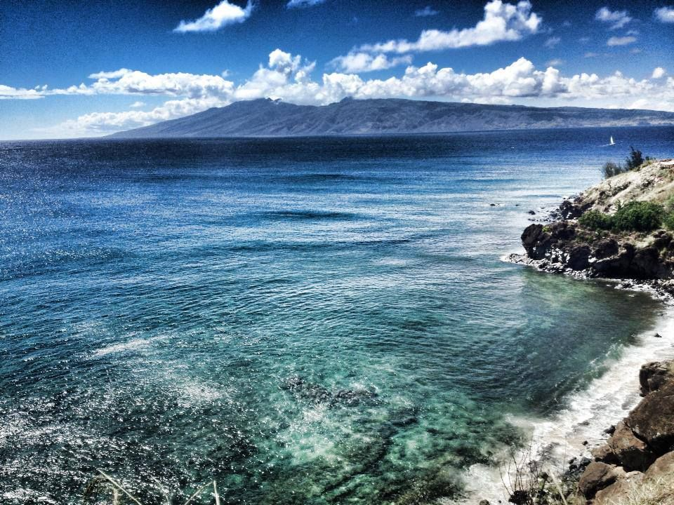 While you think about what you're serving up for Labor Day-we are serving up this view! Aloha!